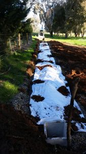 Trenching, septic repairs, excavation works